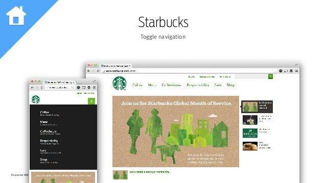 Responsive Web Design Workshop | Milan March 2014 Starbucks Toggle navigation