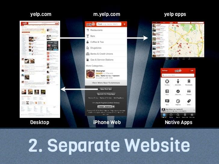 starbucks.com   starbucks.com   starbucks.com Desktop           iPhone          iPad3. Responsive Website