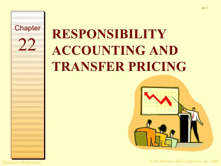 22-1     Chapter                    RESPONSIBILITY       22           ACCOUNTING AND                    TRANSFER PRICINGMc...