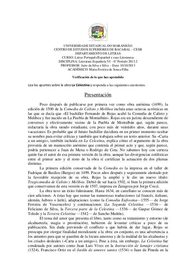 UNIVERSIDADE ESTADUAL DO MARANHÃO CENTRO DE ESTUDOS SUPERIORES DE BACABAL – CESB DEPARTAMENTO DE LETRAS CURSO: Letras Port...