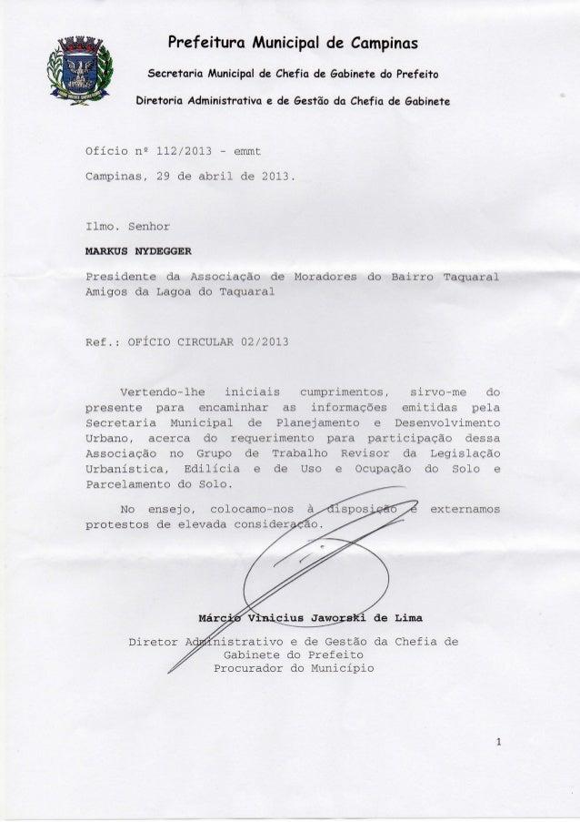 Resposta prefeitura ao oficio 02 2013 em 03 de maio de 2013-a mo taquaral (1)