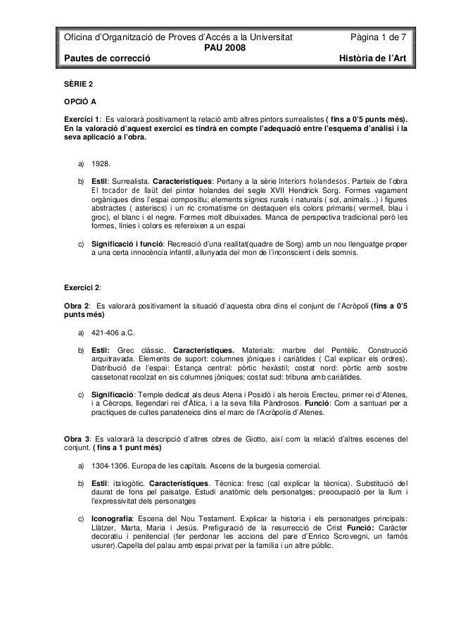 Oficina d'Organització de Proves d'Accés a la Universitat                               Pàgina 1 de 7                     ...