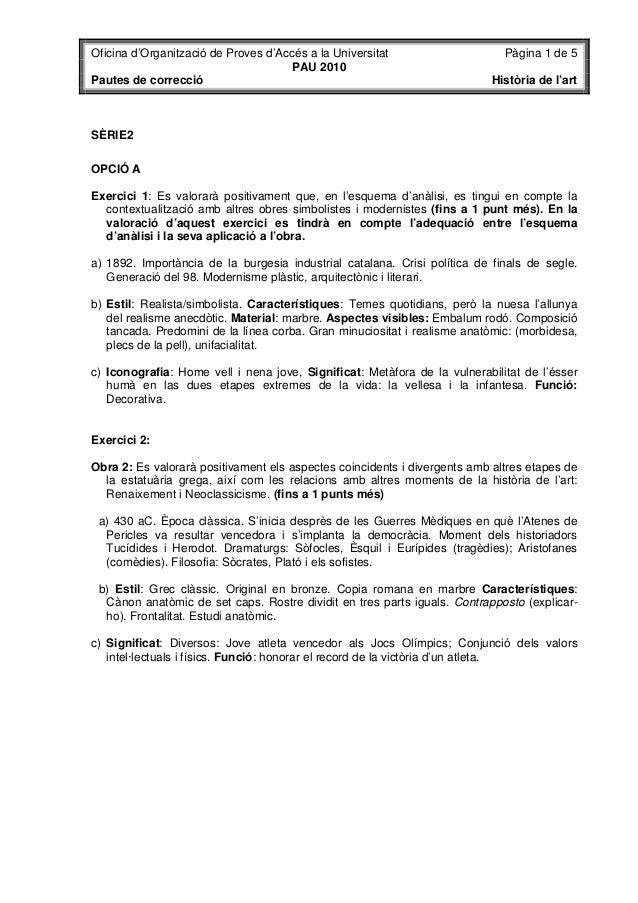 Oficina d'Organització de Proves d'Accés a la Universitat                    Pàgina 1 de 5                                ...