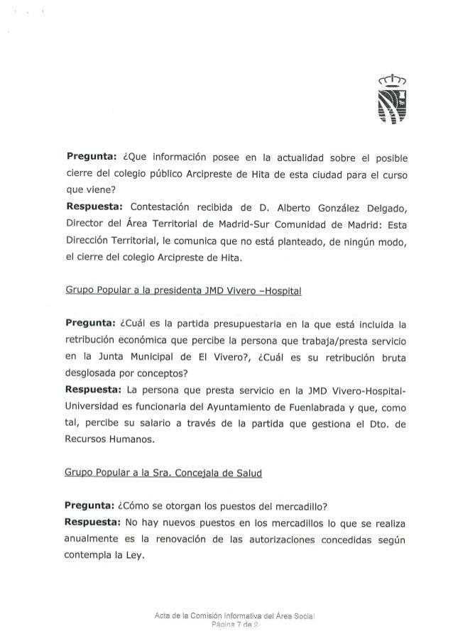Respuestas comisi n rea social 2013 for Viveros madrid sur