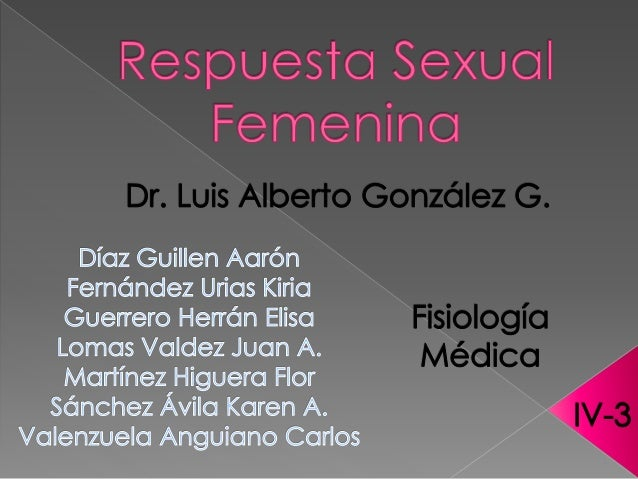 ° DESCRITA POR PRIMERA VEZ EN 1966. ° RESPUESTA SEXUAL FEMENINA. DR: WILIAM MASTERS GINECOLOGO DRA: VIRGINIA JHONSON PSICO...