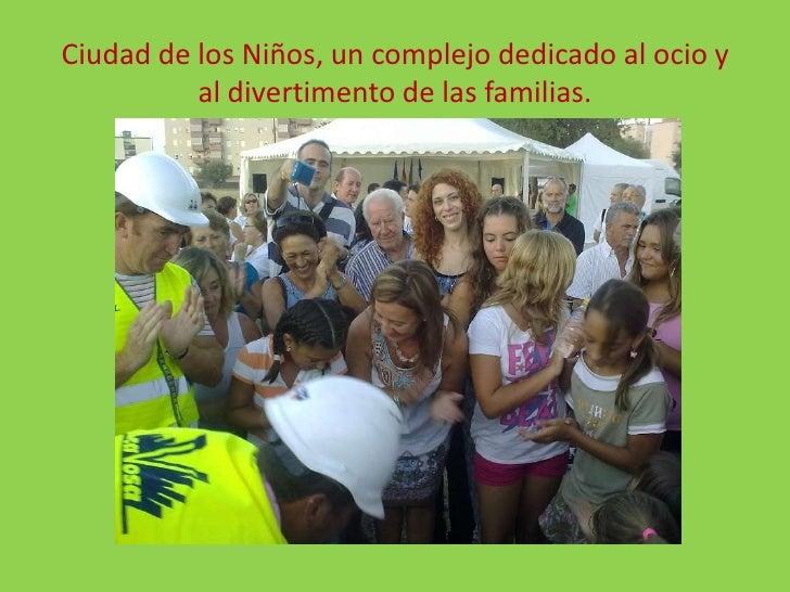 Ciudad de los Niños, un complejo dedicado al ocio y al divertimento de las familias.<br />