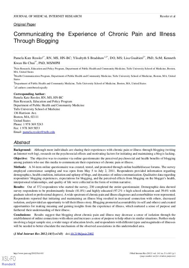 JOURNAL OF MEDICAL INTERNET RESEARCH                                                                                      ...