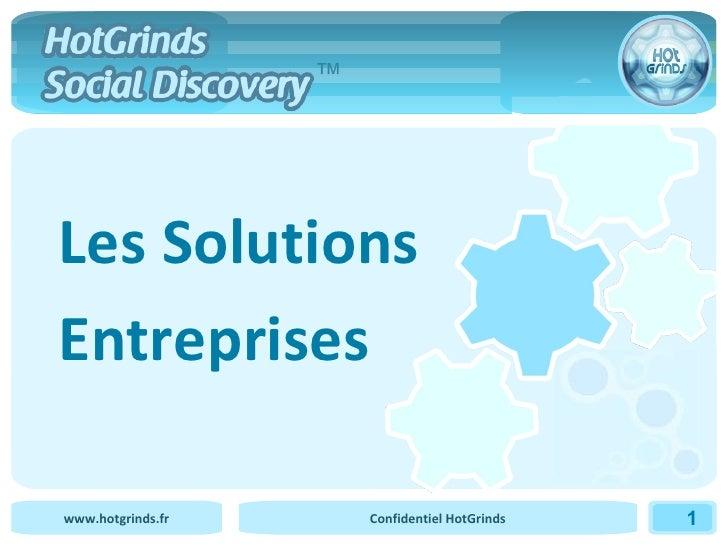 Les Solutions Entreprises ™