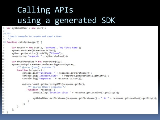 Api codes list - Michael toomim