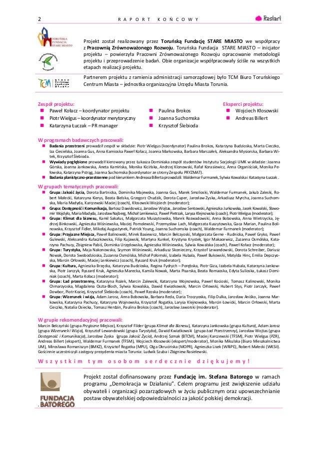 Restart - raport końcowy Slide 2