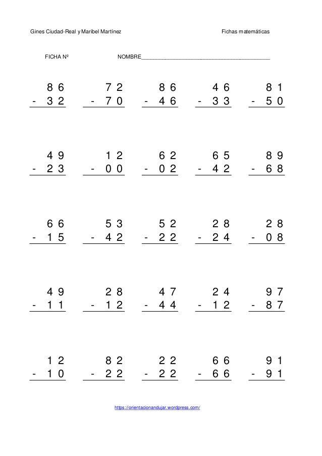 Gines Ciudad-Real y Maribel Martínez Fichas matemáticas 8 6 7 2 8 6 4 6 8 1 - 3 2 - 7 0 - 4 6 - 3 3 - 5 0 4 9 1 2 6 2 6 5 ...