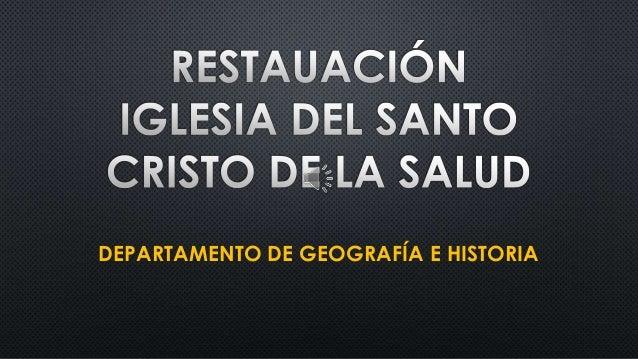 DEPARTAMENTO DE GEOGRAFÍA E HISTORIA