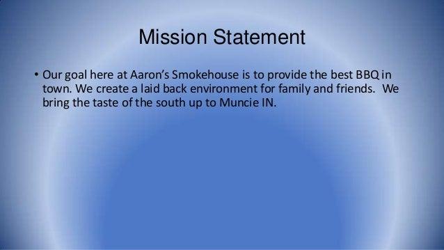Italian Restaurant Mission Statement Examples