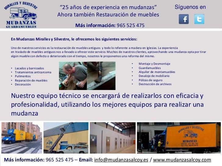 Restauraci n de muebles antiguos en alcoy cocentaina - Tecnicas de restauracion de muebles antiguos ...