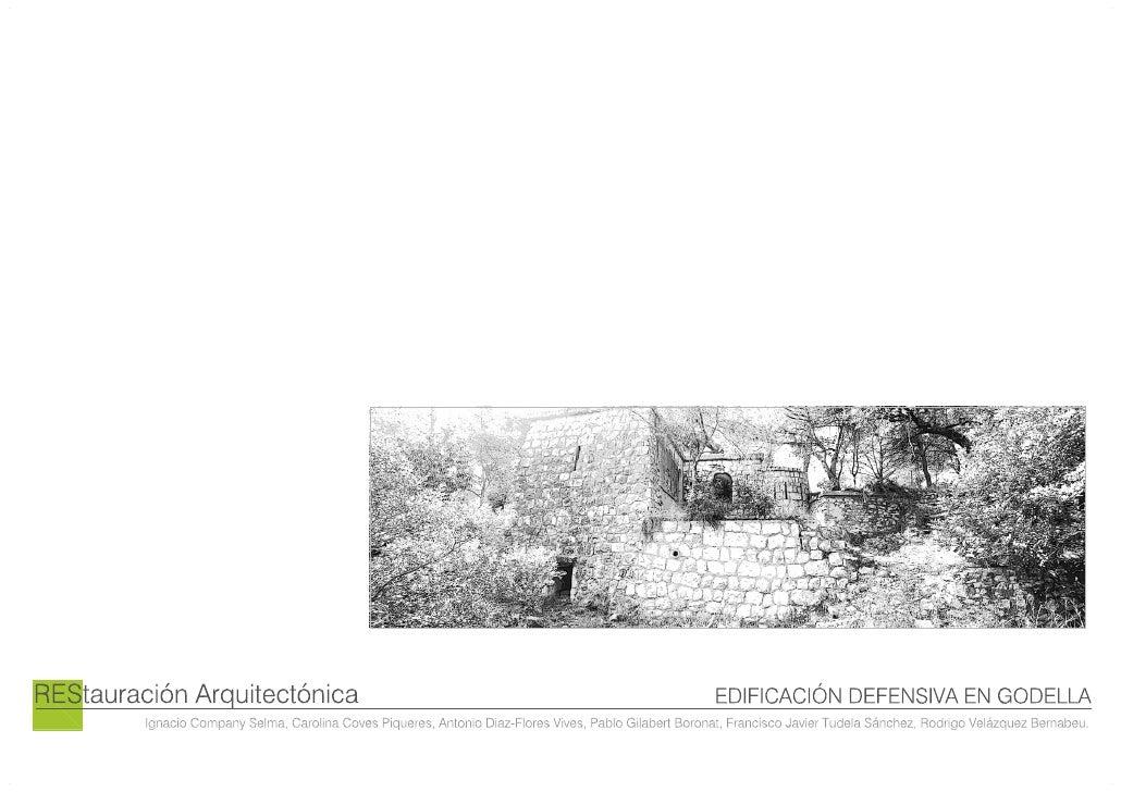 Restauración Arquitectónica [1ª Entrega]