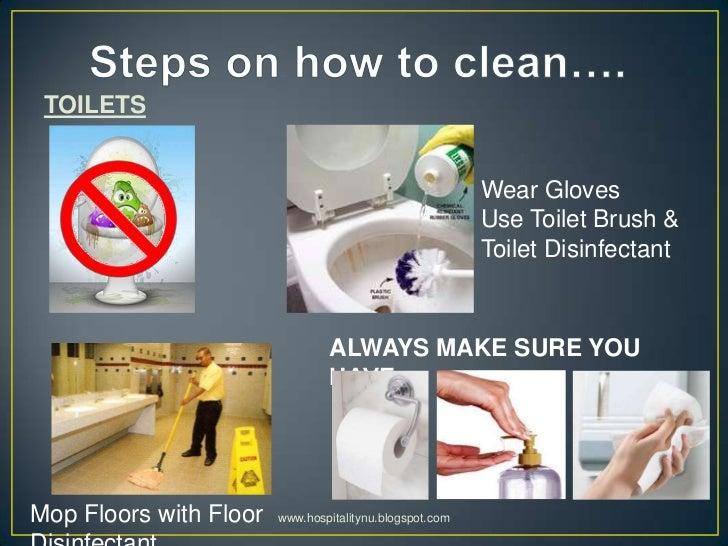 Restaurant Cleaning Procedures