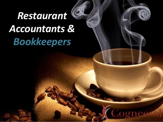 Restaurant Accountants & Bookkeepers
