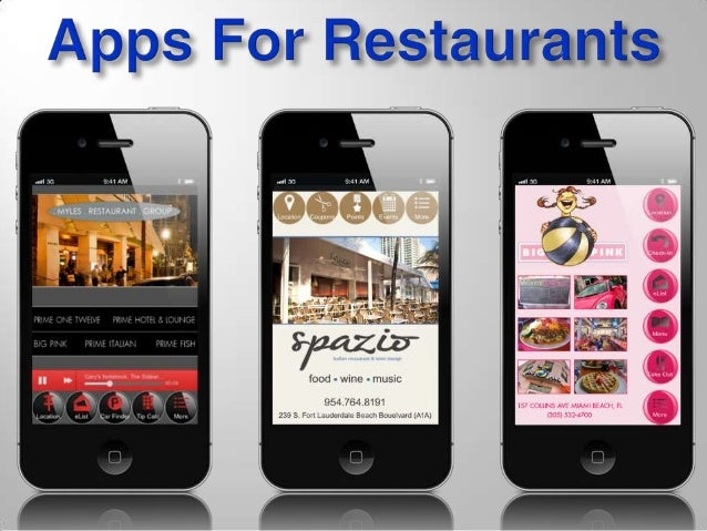 Restaurant Mobile App Presentation
