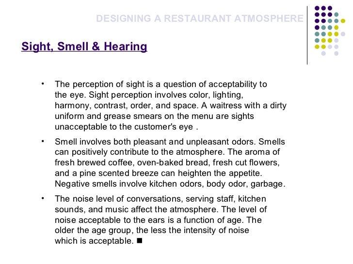 Comparison Essay- Italian food and restaurants