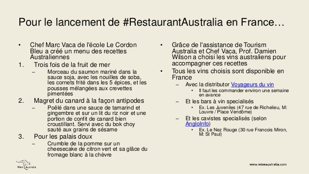 Restaurant Australia à Paris   4 juin 2014 Slide 2