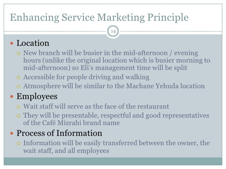 Free marketing plan sample of a restaurant (becoming a mini-chain), b…