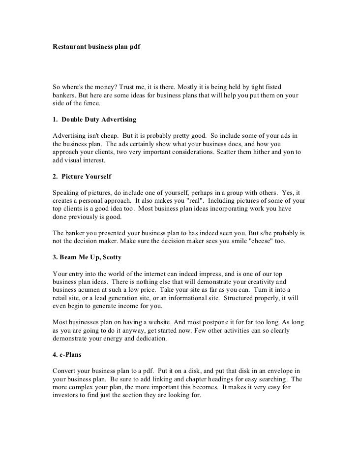 business plan sample pdf - Yolar.cinetonic.co