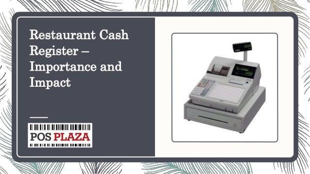 Restaurant Cash Register – Importance and Impact