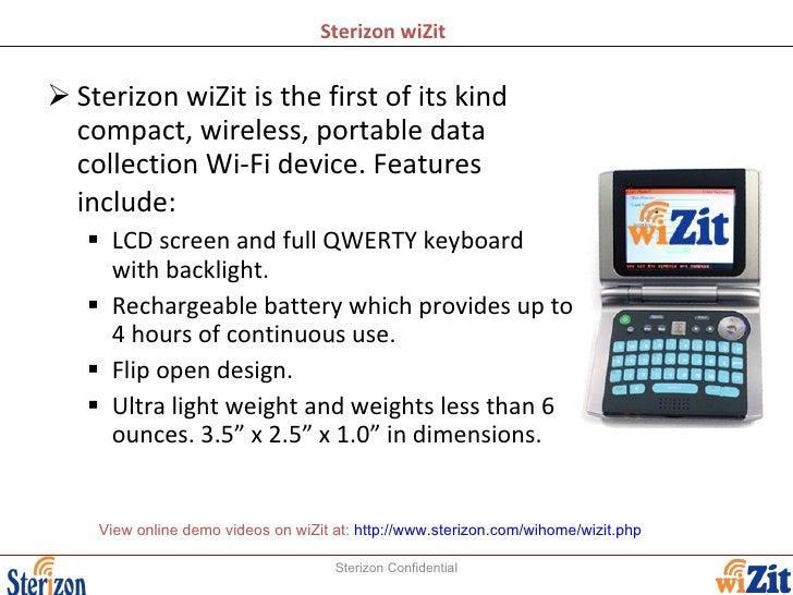 restaurant customer satisfaction survey using sterizon wizit handheld