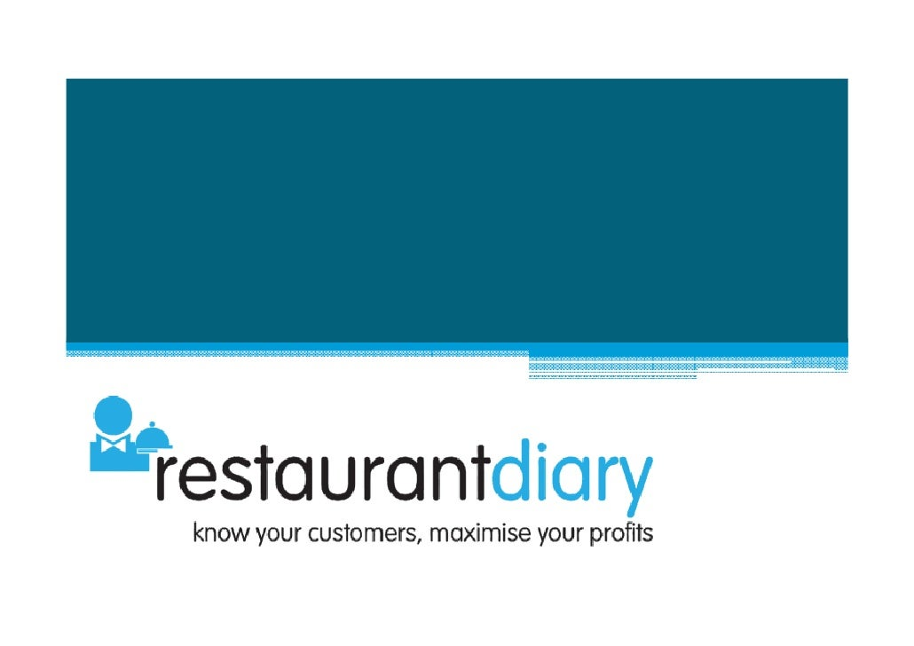 Key Benefits for Individual Operators     restaurantdiary helps restaurants of all sizes to improve their revenues and is ...