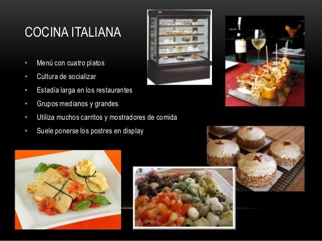 Restaurante italiano for Restaurantes de comida italiana