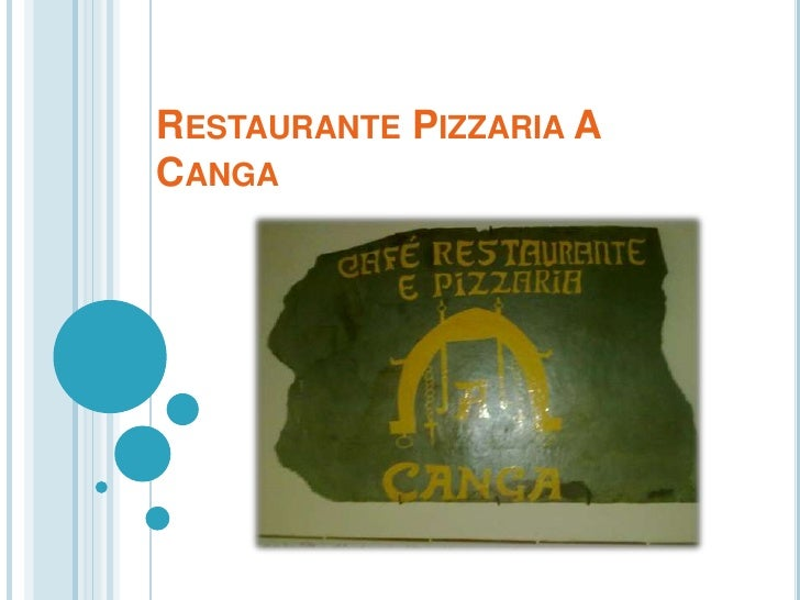 RESTAURANTE PIZZARIA ACANGA