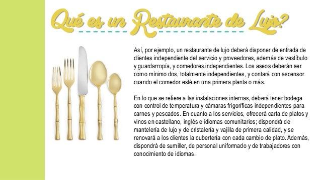 Restaurantes De Lujo Por Raisa Rueda Lia Mont S Erika