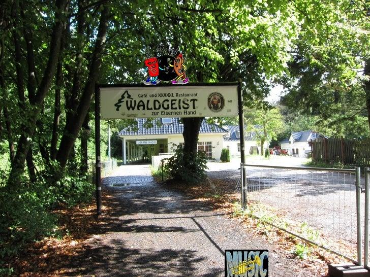 O restaurante é na cidade de Hofheim         17 km de Francfort