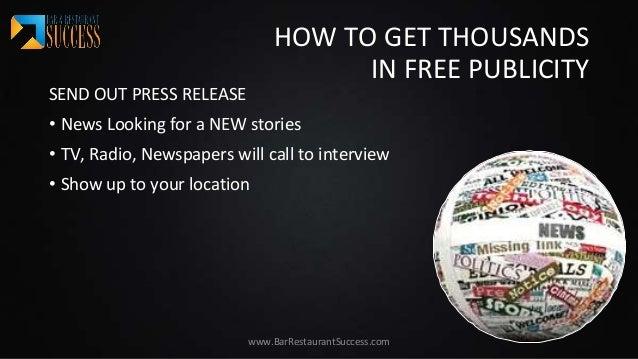 free publicity ideas goal goodwinmetals co