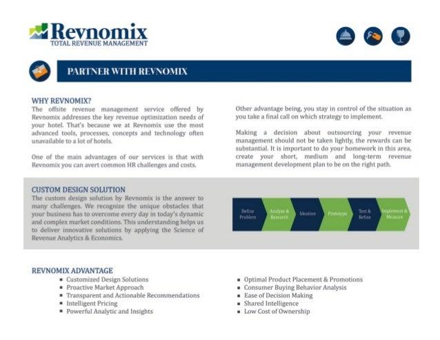 Restaurant revenue management Revnomix