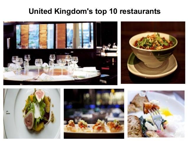 United Kingdom's top 10 restaurants