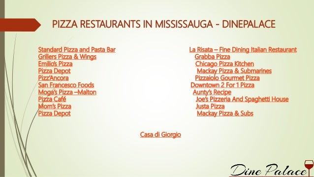 Italian Restaurants In Mississauga Dinepalace