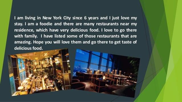 Restaurants near Me: Best Restaurants in New York City