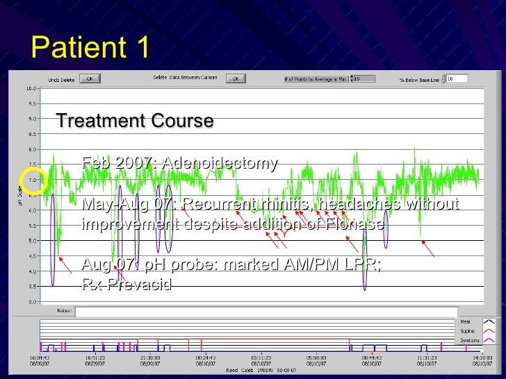 Patient 1 <ul><li>Treatment Course </li></ul><ul><ul><li>Feb 2007: Adenoidectomy  </li></ul></ul><ul><ul><li>May-Aug 07: R...