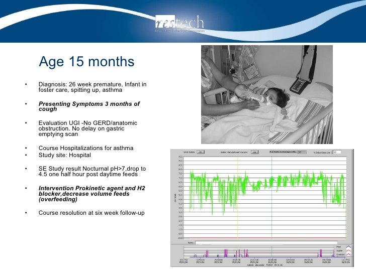 Age 15 months <ul><li>Diagnosis: 26 week premature, Infant in foster care, spitting up, asthma </li></ul><ul><li>Presentin...