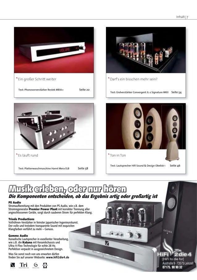 RESTEK MRIA+ Phonovorverstärker Testbericht in lp April 2010 Slide 2