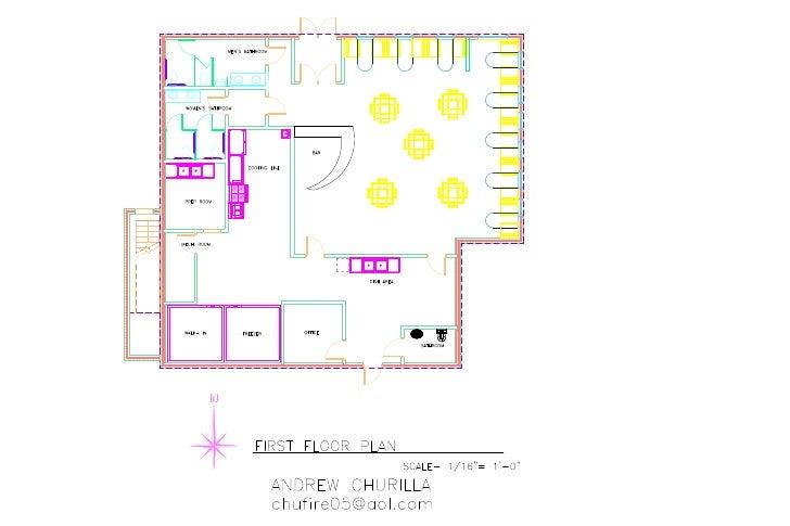 Rest.Floor Plan Model