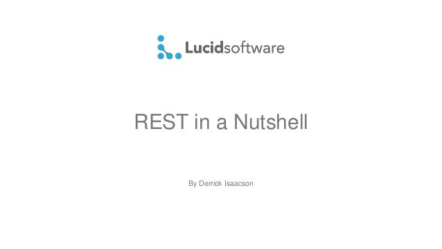 REST in a Nutshell By Derrick Isaacson