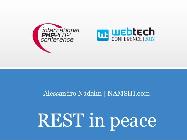 Alessandro Nadalin | NAMSHI.comREST in peace