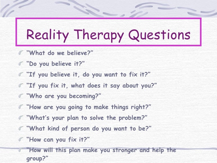 Restitution – Reality Therapy Worksheets