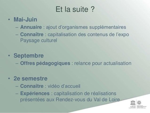 Outils de médiation Mission Val de Loire