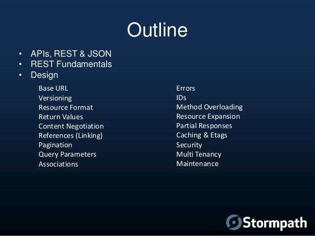 . Design Beautiful REST   JSON APIs