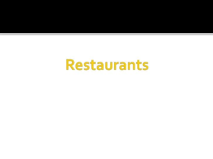 Restaurant Practicum Summary Slide 2