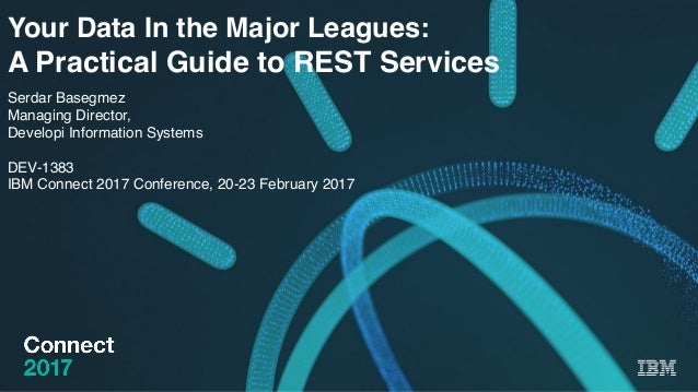 IBM Connect 2017: Your Data In the Major Leagues: A
