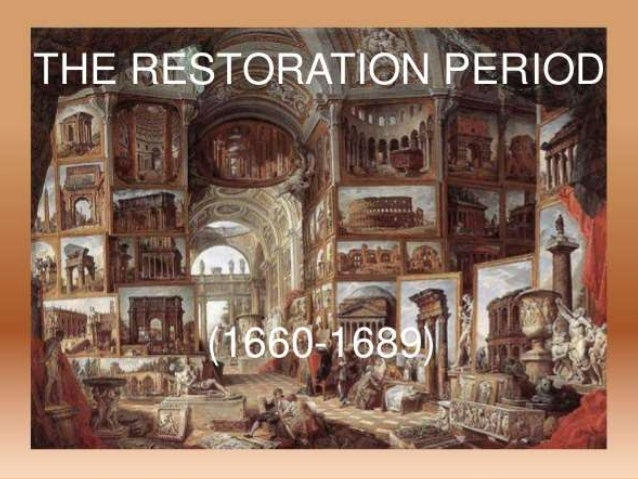 restoration tragedy characteristics